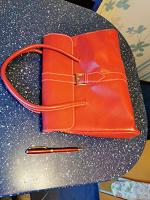 Отдается в дар Красная сумка