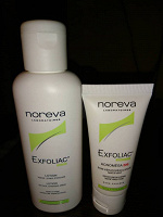 Отдается в дар Средства на основе кислот Noreva Exfoliac.