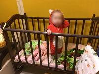 Отдается в дар Кроватка детская с матрасом