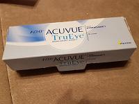 Отдается в дар контактные линзы Acuvue Tru Eye