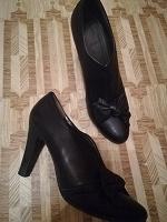 Отдается в дар ботильоны-туфли, кожа, 38-37