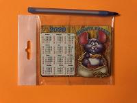 Отдается в дар Календарь — магнит на холодильник