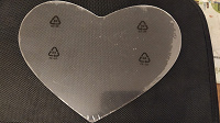 Отдается в дар пластиковое сердце на хендмейд