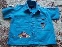 Отдается в дар Хлопковая рубашка на мальчика 2-3 года