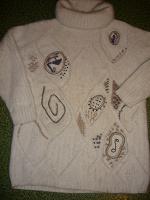 Отдается в дар пуховый свитер