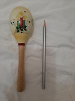 Отдается в дар Деревянная игрушка погремушка маракас