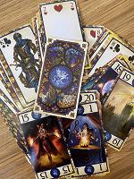 Отдается в дар Карты Таро с героями игры меча и магии