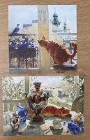 Отдается в дар Открытки с котами