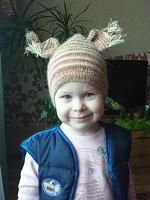 Отдается в дар Детская шапочка «Белочка»