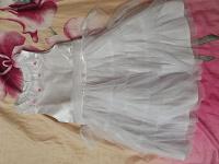 Отдается в дар Нарядное платье на 4г
