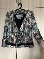 Отдается в дар Нарядная блузка 52 размер