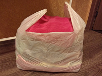 Отдается в дар Пакет одежды на девочку от года до двух лет.
