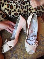 Отдается в дар Туфли/босоножки кожаные Италия 38 размер