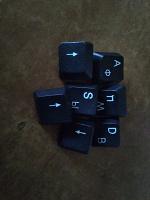 Отдается в дар Кнопки запасные для клавиатуры