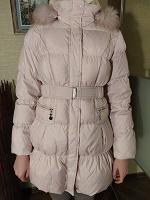 Отдается в дар Зимнее пальто пуховик для девочки 164 рост