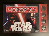 Отдается в дар Настольная игра Monopoly Star Wars