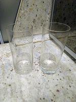 Отдается в дар Два высоких тонкостенных стакана