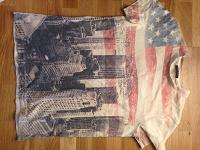 Отдается в дар футболка детская Sisley под винтаж р140