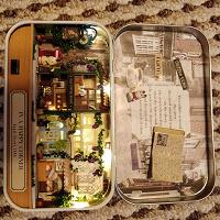 Отдается в дар Домик в коробочке миниатюра