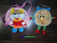 Отдается в дар детские рюкзачок и сумочка