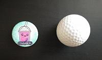 Отдается в дар Значок и мячик для гольфа