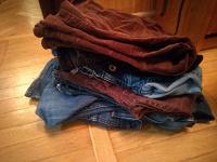 Отдается в дар Джинсы для шитья из джинсы