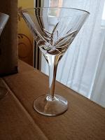 Отдается в дар Бокалы для мартини, хрусталь