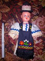 Отдается в дар Кукла в народном костюме