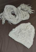 Отдается в дар Комплект шарф и берет