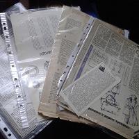 Отдается в дар Вырезки из советских журналов Крестьянка и Работница Шитьё