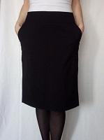 Отдается в дар Классическая черная юбка Incity, р-р S