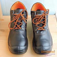 Отдается в дар Ботинки защитные кожаные Talan