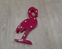 Отдается в дар Декоративный светильник «Фламинго»