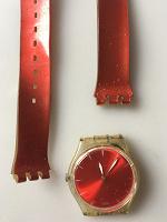 Отдается в дар часы swatch оригинал ремешок под замену прозрачные
