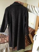 Отдается в дар Пальто 54-56 рост158—164. Зимнее на ватине. Советское ретро.