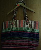Отдается в дар Новая летняя тканевая сумка 35х52см.