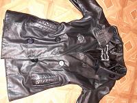 Отдается в дар Куртка кожаная 48