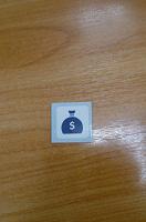 Отдается в дар Маленький магнитик с большим мешком долларов