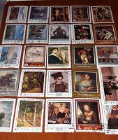 Отдается в дар Марки СССР -«Искусство»(живопись, картины, пейзаж, портрет).
