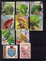 Отдается в дар Стандартные марки Украины
