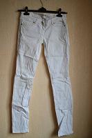 Отдается в дар Белые женские джинсы