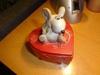 Отдается в дар Шкатулка-мышка