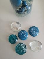 Отдается в дар Декоративные стеклянные камешки ( марблс)