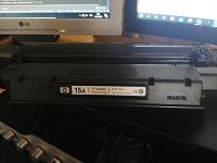 Отдается в дар Картридж c7115a для HP LaserJet