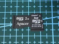 Отдается в дар Micro SD 1GB, 2GB.