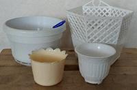 Отдается в дар Кашпо пластик