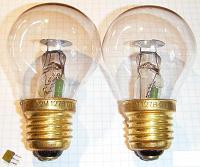 Отдается в дар Коллекционерам «лампочек» — лампа ТН-30-2-М-127В