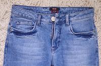 Отдается в дар классические голубые джинсы — 42 р.