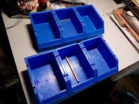 Отдается в дар 6 коробочек для запчастей или инструментов
