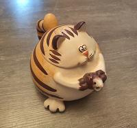 Отдается в дар Чайник для заварки в виде кота